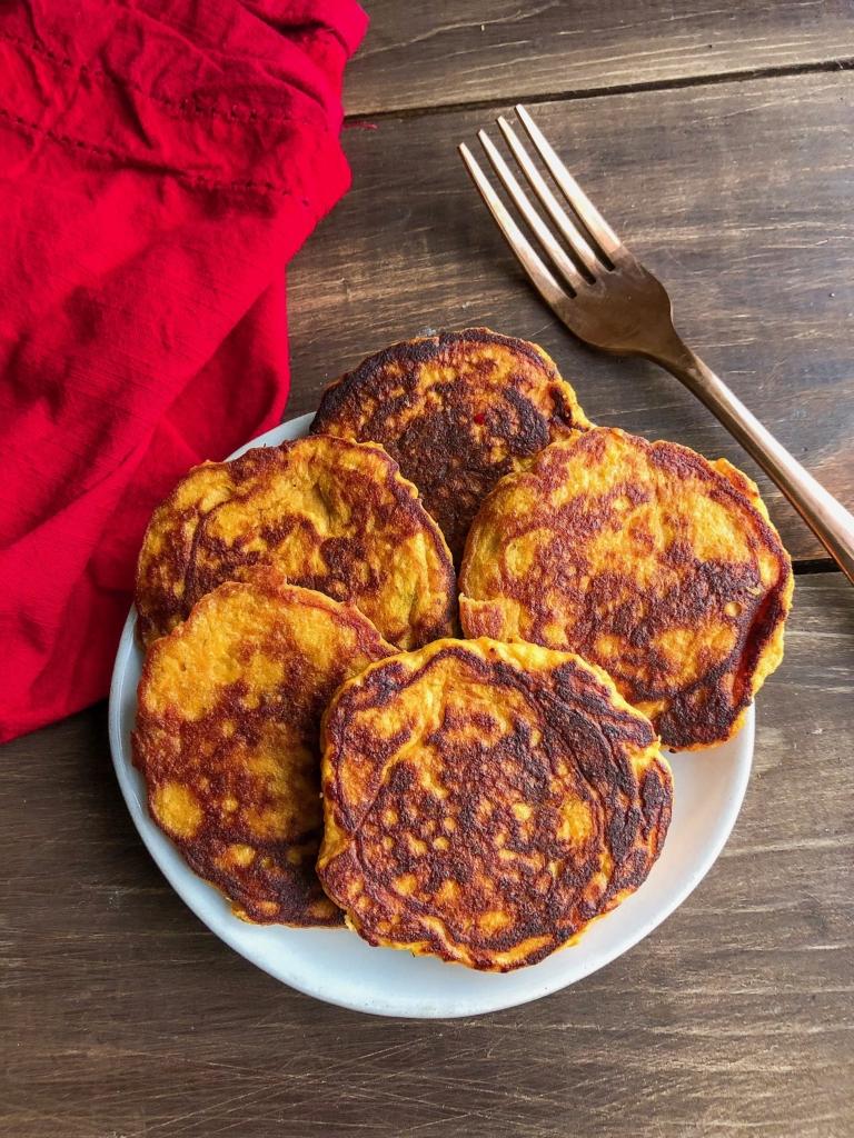 Sweet Potato Pancakes Choosing Balance
