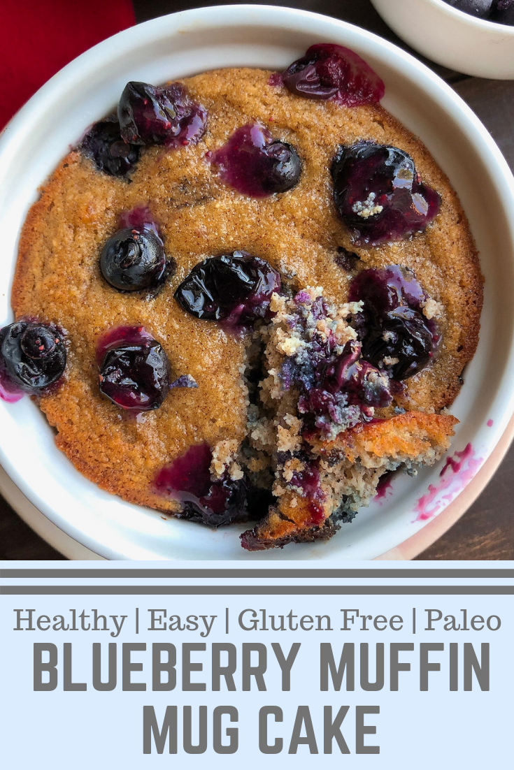 Blueberry Muffin Mug Cake Choosing Balance Recipes